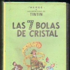 Cine: LAS AVENTURAS DE TINTIN: LAS 7 BOLAS DE CRISTAL. Lote 156658090
