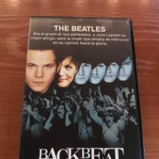 Cine: BACKBEAT / THE BEATLES - VHS. Lote 156658206