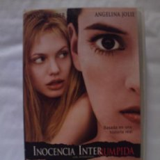 Cine: VHS. INOCENCIA INTERRUMPIDA. JAMES MANGOLD.. Lote 156658426