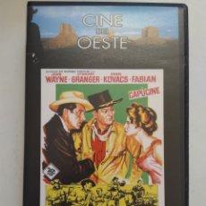 Cine: VHS ALASKA TIERRA DE ORO/CINE DEL OESTE. Lote 156661234