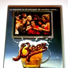 Cine: BEER (1985) - PATRICK KELLY LORETTA SWIT RIP TORN KENNETH MARS DAVID ALAN GRIER VHS. Lote 156673494