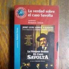 Cine: LA VERDAD SOBRE EL CASO SAVOLTA.VHS.16.ANTONIO DROVE. Lote 156730620
