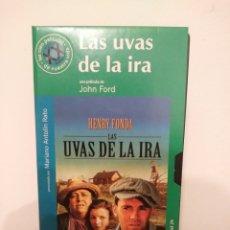 Cine: LAS UVAS DE LA IRA.VHS.20.JOHN FORD.. Lote 156753018
