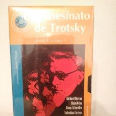 Cine: EL ASESINO DE TROTSKY.VHS.25.JOSEPH LOSEY.. Lote 156754702