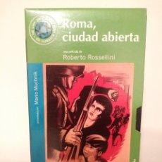 Cine: ROMA,CUIDAD ABIERTA.VHS.33.ROBERTO ROSSELLINI.. Lote 156761205