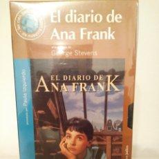 Cine: EL DIARIO DE ANA FRANK.VHS.38.GEORGE STEVENS.. Lote 156762557