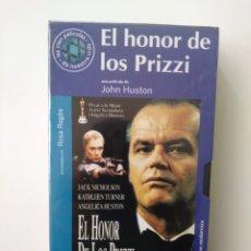 Cine: EL HONOR DE LOS PRIZZI.VHS.57.JOHN HOUSTON. Lote 156799177