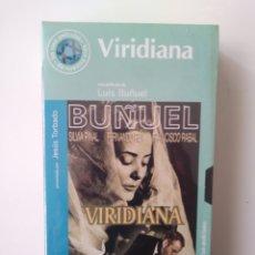 Cine: VIRIDIANA.VHS.59.LUIS BUNUEL. Lote 156799794