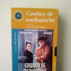 Cine: COWBOY DE MEDIANOCHE.VHS.62.JOHN SCHLEINGER. Lote 156800344