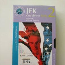 Cine: JFK.CASO ABIERTO.(PARTE:2).VHS.67.OLIVER STONE.. Lote 156801838