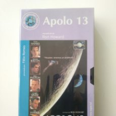Cine: APOLO 13.VHS.68.RON HOWARD.. Lote 156802178