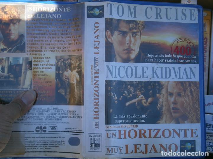 UN HORIZONTE MUY LEJANO¡DISPONEMOS MAS,DE 60.000,EN.VHS,BETA,,NO,SE ACEPTAN DE VOLUCIONES,DE NINGUN, (Cine - Películas - VHS)