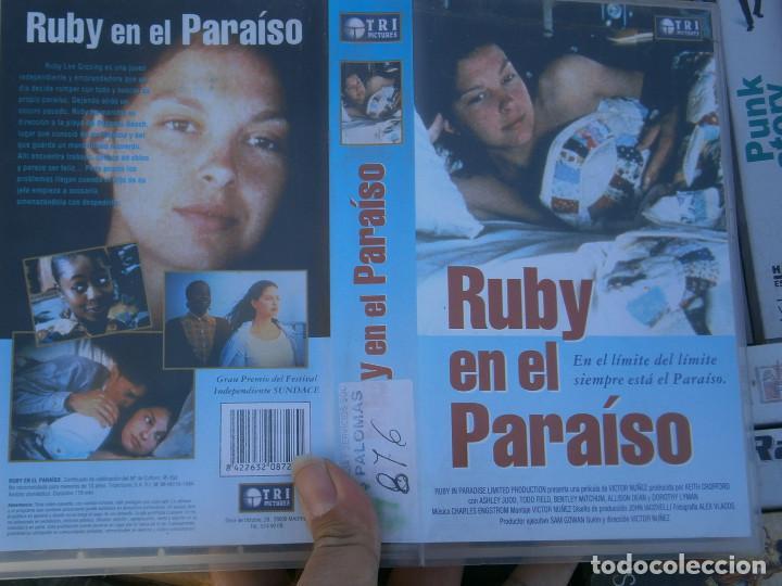 RUBY EN EL PARAISO¡DISPONEMOS MAS,DE 60.000,EN.VHS,BETA,,NO,SE ACEPTAN DE VOLUCIONES,DE NINGUN,TIPO (Cine - Películas - VHS)