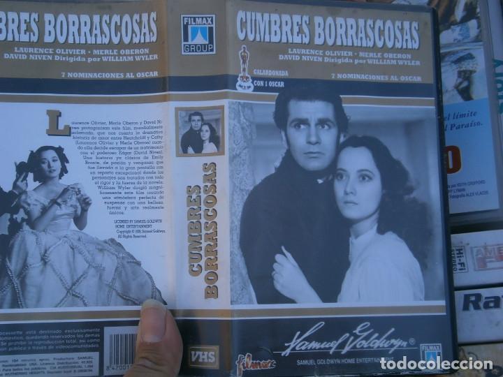 CUMBRES BORRASCOSAS,DISPONEMOS MAS,DE 60.000,EN.VHS,BETA,,NO,SE ACEPTAN DE VOLUCIONES,DE NINGUN,TIPO (Cine - Películas - VHS)