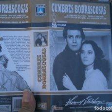 Cine: CUMBRES BORRASCOSAS,DISPONEMOS MAS,DE 60.000,EN.VHS,BETA,,NO,SE ACEPTAN DE VOLUCIONES,DE NINGUN,TIPO. Lote 156964650
