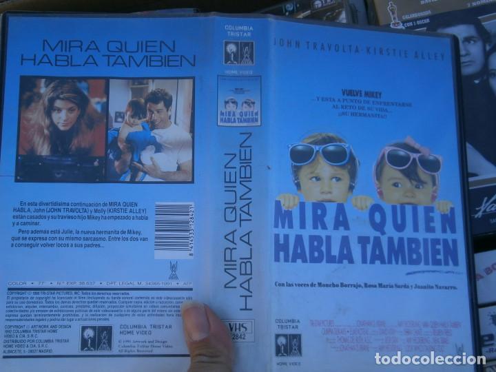 MIRA QUIEN ABLA,TAMBIEN¡DISPONEMOS MAS,DE 60.000,EN.VHS,BETA,,NO,SE ACEPTAN DE VOLUCIONES,DE NINGUN, (Cine - Películas - VHS)