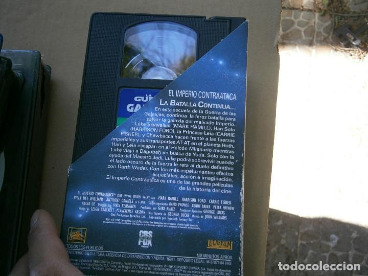 Cine: TRILOGIA,LA,GUERRA,DE,LAS,GALAXIAS¡DISPONEMOS MAS,DE 60.000,EN.VHS,BETA,,NO,SE ACEPTAN DE VOLUCIONES - Foto 4 - 156965574