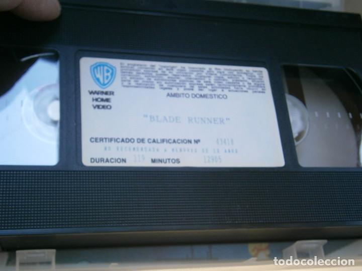 Cine: BLADE,RUNNERDISPONEMOS MAS,DE 60.000,EN.VHS,BETA,,NO,SE ACEPTAN DE VOLUCIONES,DE NINGUN,TIPO - Foto 2 - 156965826