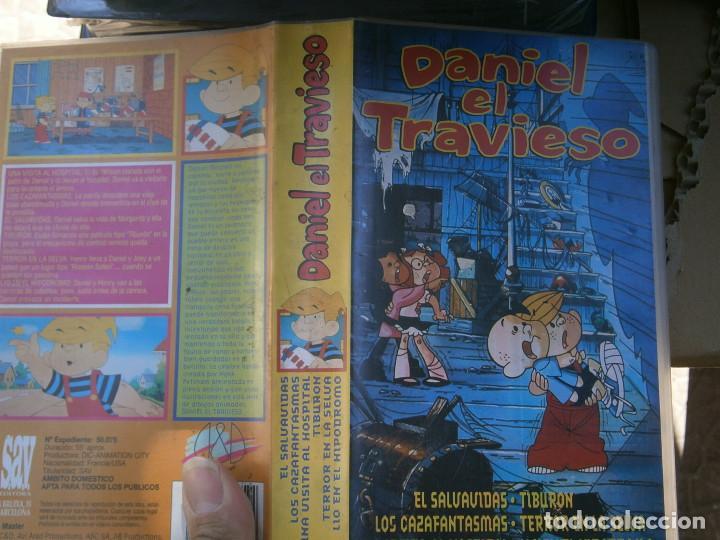 DANIEL,EL,TRAVIESO,DISPONEMOS MAS,DE 60.000,EN.VHS,BETA,,NO,SE ACEPTAN DE VOLUCIONES,DE NINGUN,TIPO (Cine - Películas - VHS)