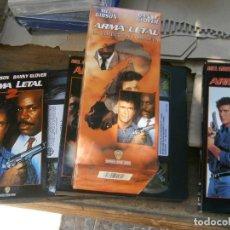 Cine: ARMA,LETAL¡DISPONEMOS MAS,DE 60.000,EN.VHS,BETA,,NO,SE ACEPTAN DE VOLUCIONES,DE NINGUN,TIPO. Lote 156993962
