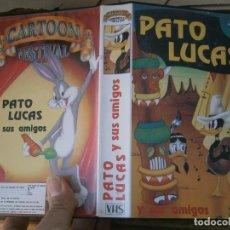 Cine: PATO LUCAS Y SUS AMIGOS,DISPONEMOS MAS,DE 60.000,EN.VHS,BETA,,NO,SE ACEPTAN DE VOLUCIONES,DE NINGUN,. Lote 156994694