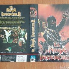 Cine: CARATULA VHS - EL NINJA INVENCIBLE. Lote 156997250