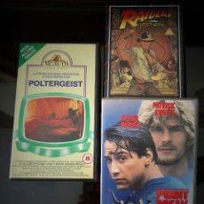 Cine: LOTE DE TRES GRANDES PELÍCULAS DE LA DÉCADA 80 Y 90 EN VHS (VERSION HABLADA EN INGLES ) ORIGINALES . Lote 157123822