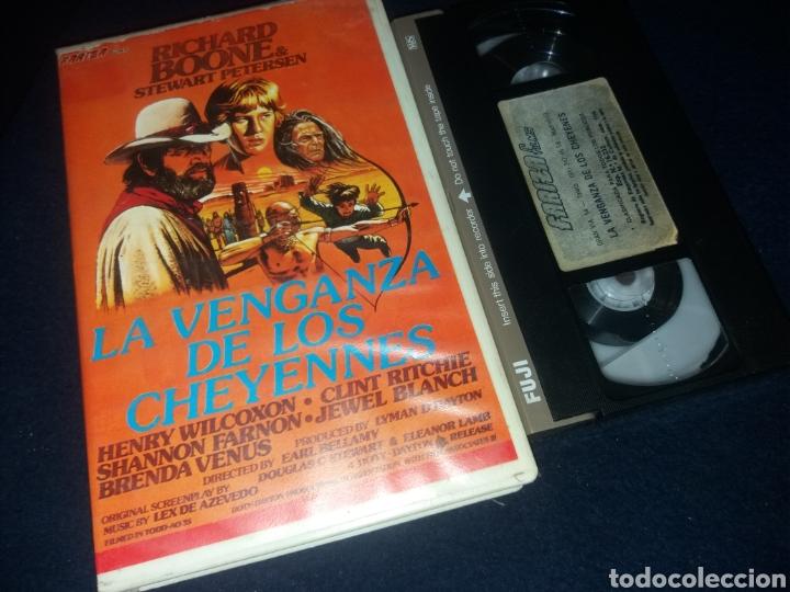 LA VENGANZA DE LOS CHEYENNES- VHS- DIR: EARL BELLAMY (Cine - Películas - VHS)