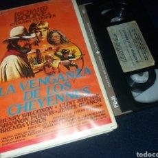 Cine: LA VENGANZA DE LOS CHEYENNES- VHS- DIR: EARL BELLAMY. Lote 157465053