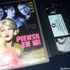 Cine: PIENSA EN MI- VHS- DREW BARRYMORE- DESCATALOGADA. Lote 157700537