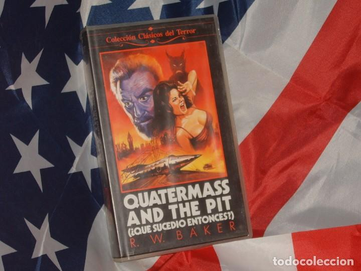 QUATERMASS & THE PIT QUE SUCEDIO ENTONCES - FILMAYER VIDEO (Cine - Películas - VHS)
