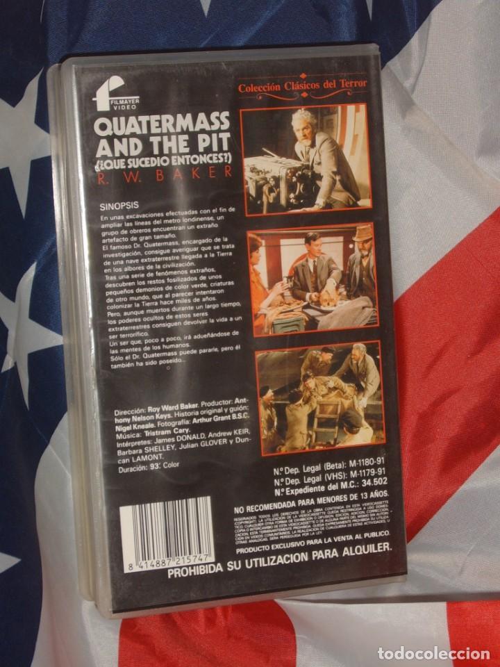 Cine: QUATERMASS & THE PIT QUE SUCEDIO ENTONCES - FILMAYER VIDEO - Foto 4 - 157710674