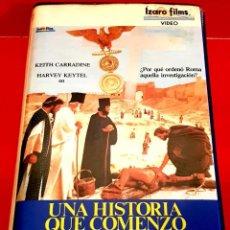 Cine: UNA HISTORIA QUE COMENZO HACE 2000 AÑOS (1986) - L'INCHIESTA. Lote 157753754