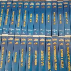 Kino - COLECCION DE CINTAS VHS. DISNEY. MAGIC ENGLISH. - 157797690