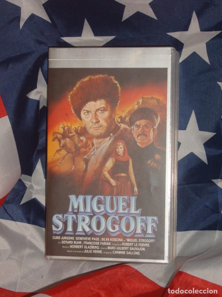 MIGUEL STROGOFF - FILMAYER VIDEO - (Cine - Películas - VHS)