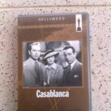 Cinema: PELICULA EN VIDEO CASABLANCA WARNER HOME VIDEO. Lote 158189030