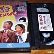 Cine: 39 ESCALONES . ALFRED HITCHCOCK - VHS . PEDIDO MINIMO 6 EUROS. Lote 158238662