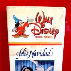 Cine: FELIZ NAVIDAD (1985) - WALT DISNEY 1ª EDICIÓN. Lote 158619518