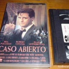 Cine: CASO ABIERTO . ROBERT LOGGIA - VHS - PEDIDO MINIMO 6 EUROS. Lote 158704158