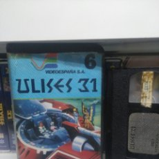Cine: ULISES 31. VHS 3 EPISODIOS.. Lote 158788094
