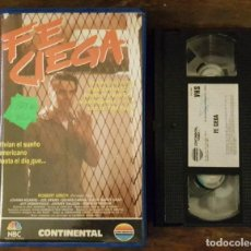 Cine: FE CIEGA - ROBERT URICH - JOANNA KEARNS , JOE SPANO - CONTINENTAL 1990. Lote 158916938