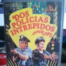 Cine: VHS DOS POLICIAS INTREPIDOS - REGALO MONTAJE CON DVD SONIDO DUAL. Lote 158924312