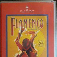 Cine: VHS FLAMENCO DE CARLOS SAURA 1995. Lote 159052094
