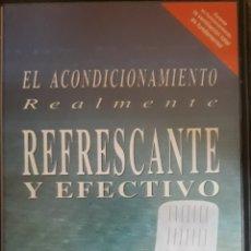 Cine: VHS GUÍA UTILIZACIÓN DE LOS EQUIPOS DE ACONDICIONAMIENTO COME BY. Lote 159054633