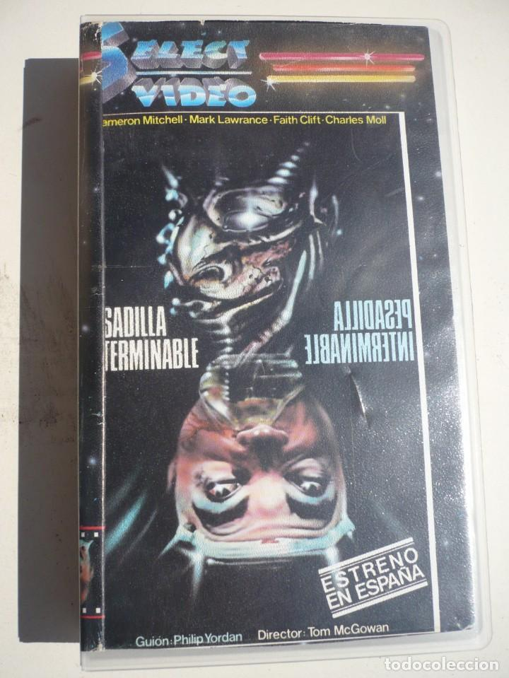 PESADILLA INTERMINABLE/CATACLISM (1977) VHS. (Cine - Películas - VHS)