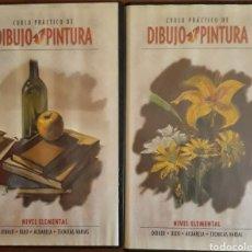 Cine: VHS CURSO PRÁCTICO DE DIBUJO Y PINTURA 1998. Lote 159075744