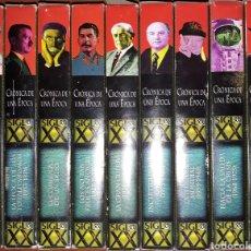 Cine: VHS CRONICA DE UNA ÉPOCA 9U. Lote 159086741