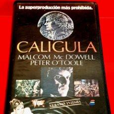 Cine: CALIGULA (1979) - TINTO BRASS. 1ª EDICIÓN VIDEOESPAÑA - CALIGVLA. Lote 159308054