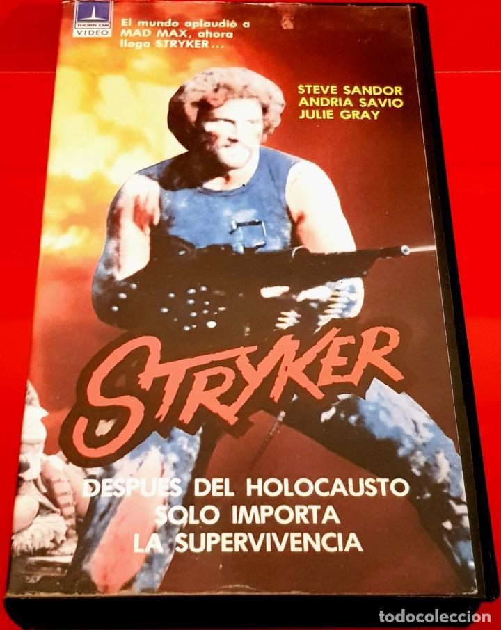 STRYKER (1983) - CIRIO H. SANTIAGO, STEVE SANDOR (Cine - Películas - VHS)