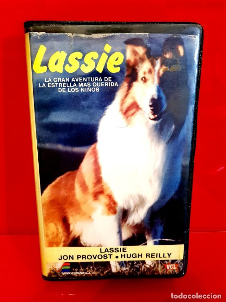 LASSIE (1982)- JON PROVOST, HUGH REILLY - 1ª EDICIÓN VIDEOESPAÑA (Cine - Películas - VHS)